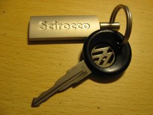 Scirocco key ring